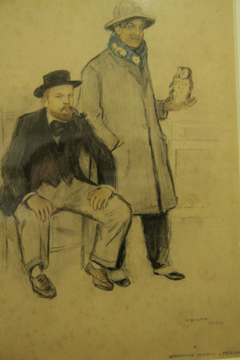 Picasso y su amigo y protector, el pintor Sebastià Junyent