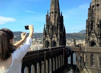 Torres de la Catedral de Clermont-Ferrand.