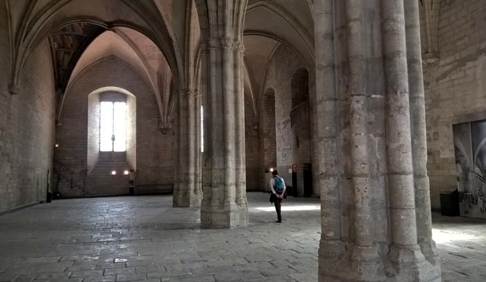 Interior Palacio Papal de Aviñón