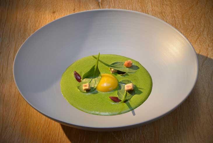 La típica salsa verde de Hesse © Relais & Châteaux Hotel Die Sonne Frankenberg