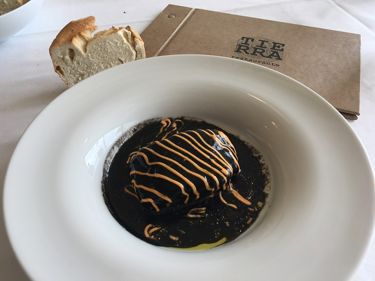 Algunos platos del restaurante del Hotel Finca Los Arandinos te hacen subir al Olimpo de los dioses.