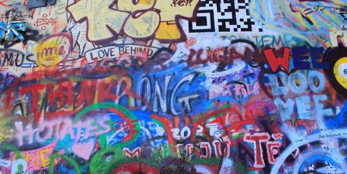 Muro de John Lennon. Foto M. Peinado con licencia Creative Commons.