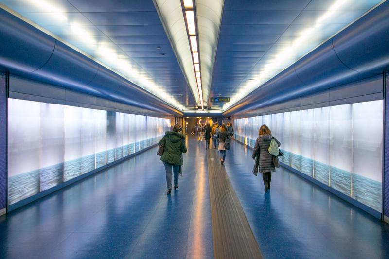 Estación de metro de Toledo, proyectada por el estudio del español Óscar Tusquets © Javier Zori del Amo