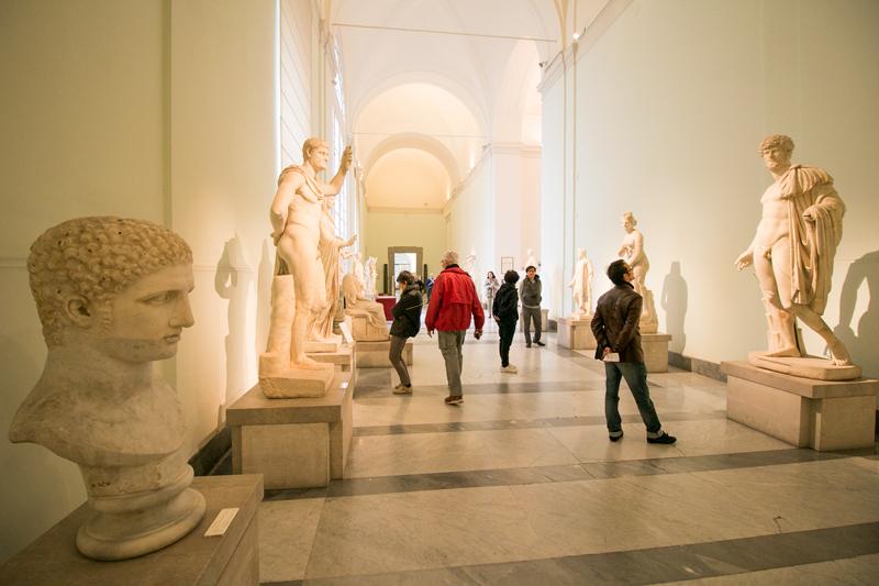 Museo Arqueológico Nacional de Nápoles © Javier Zori del Amo