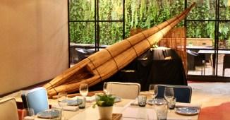 Caballito de Totora en el restaurante Totora de Barcelona