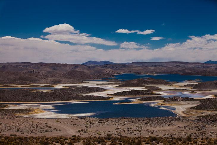 Lagunas Cotacotani © Ronny Belmar