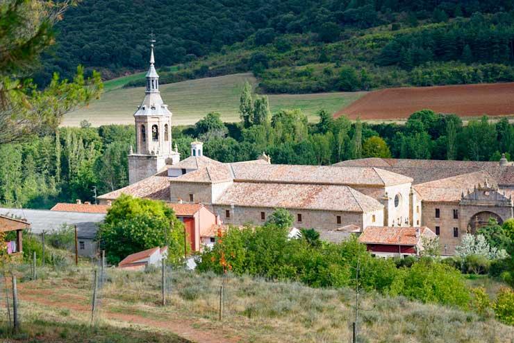 Monasterio de Yuso, en San Millán de la Cogolla