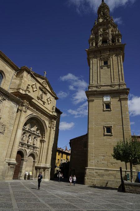 Plaza del Santo en Santo Domingo de la Calzada