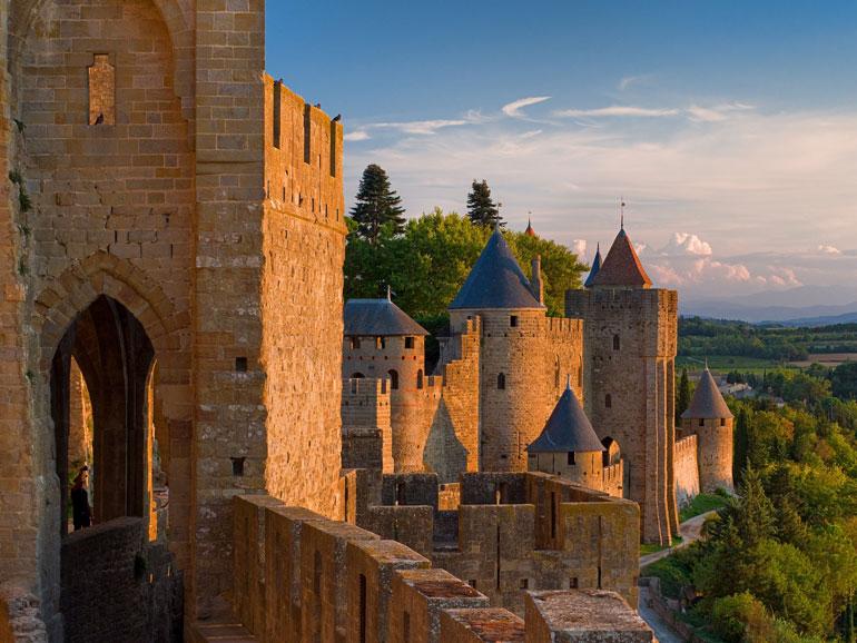 ruta por carcassonne en occitanie languedoc roussillon