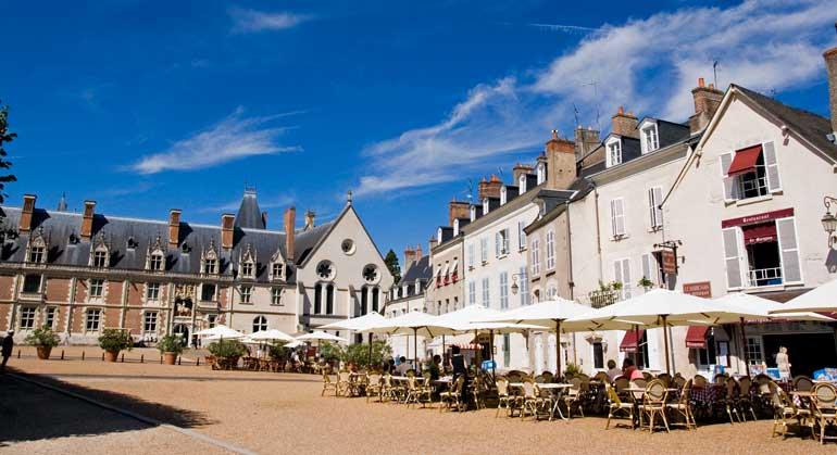Plaza del Castillo de Blois