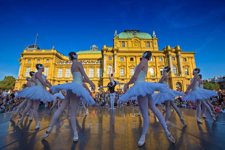 Teatro Nacional de Croacia en Zagreb © Marko Vrdoljak