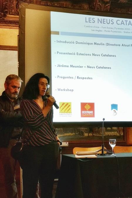 Dominique Maulin, directora de Atout France España en Madrid, destacó la importancia del turismo de bienestar y familiar para las estaciones del sur de Francia