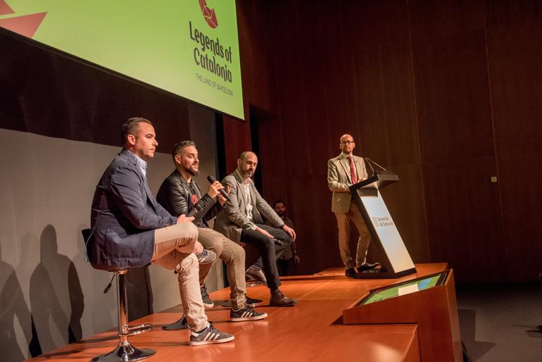 Presentación de la campaña Legends of Catalonia