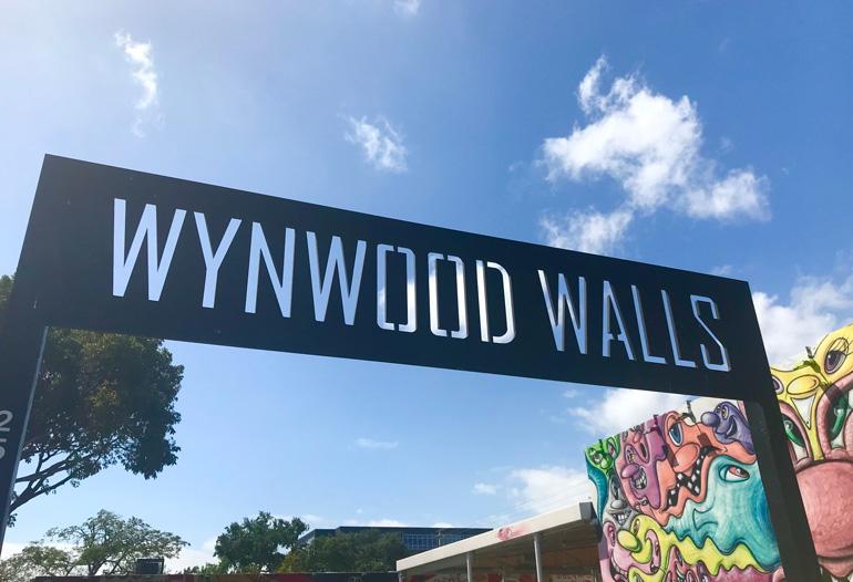En Wynwood Walls hay numerosos ejemplos de arte urbano