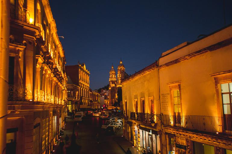 Zacatecas nocturna