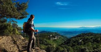 Panorámica del Baix Camp desde el Camino Reus-Prades