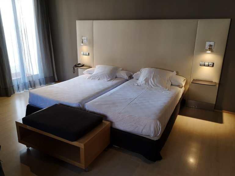 Habitación familiar del Hotel Carris Almirante de Ferrol