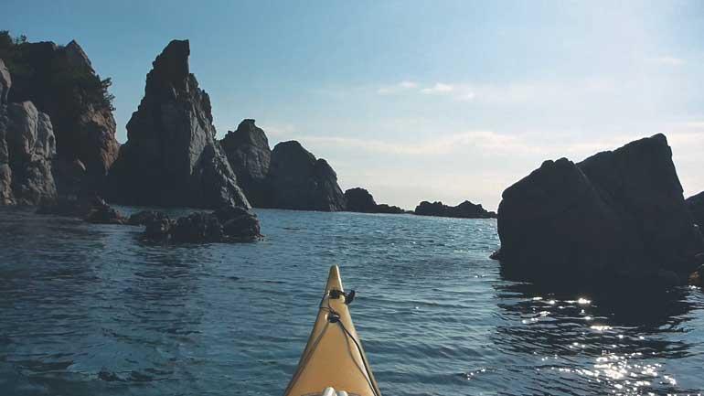 Kayak de Mar en Lloret de Mar