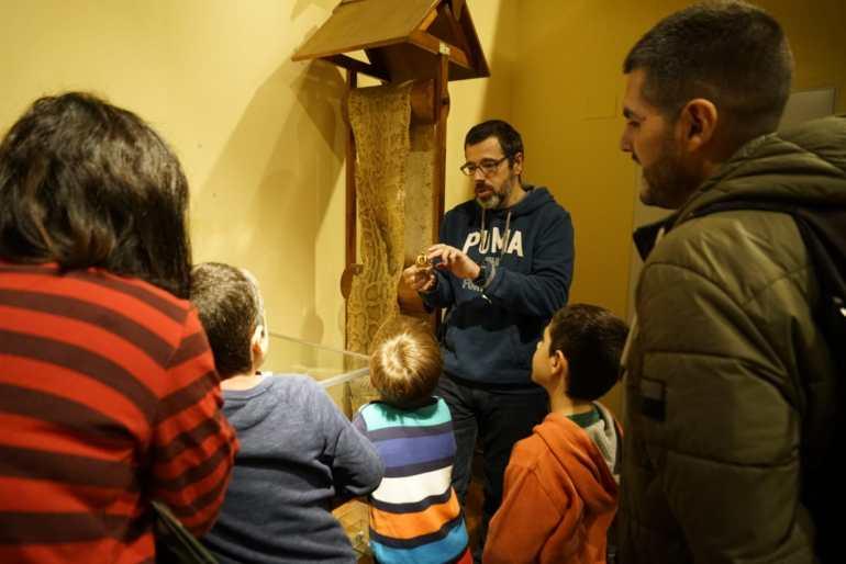 El Museo de la Sociedade Galega de Historia Natural es una de las visitas preferidas de los niños