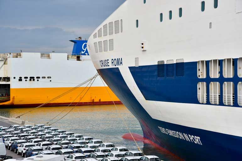 Cruise Roma, la primera nave del Mediterráneo cero emisiones en puerto