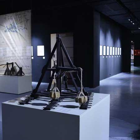 """Exposición itinerante """"Da Vinci"""" en la Cúpula Events de Arenas"""