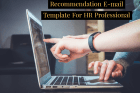 Recommendation E-mail Template For HR Professional