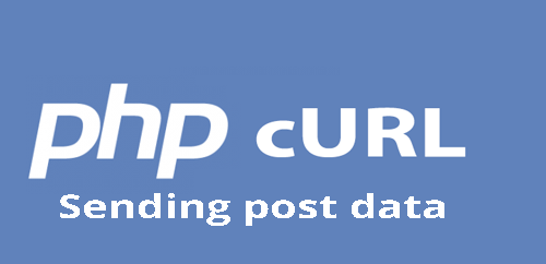 Sending post request using curl in php