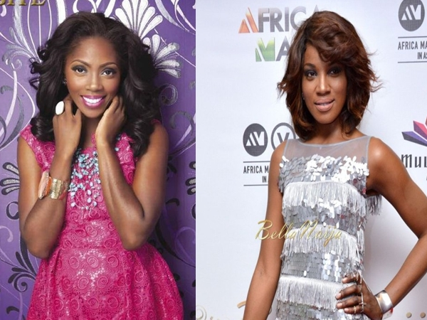 Did Tiwa-Savage beget Seyi-Shay?