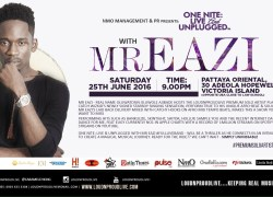 Mr. Eazi sets to Perform Live in Lagos at OneNite Live & Unplugged