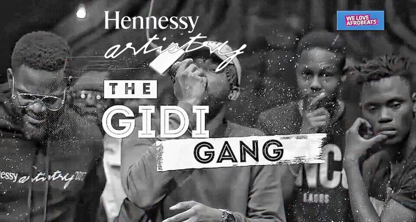 Falz, LadiPoe, Dremo, Yoye and Staqk G hop on Hennessy Cypher 2017
