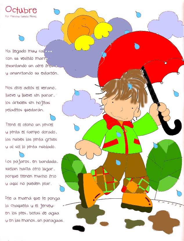 A partir de la palabra primavera, elaboraron un acróstico y con las palabras. Imágenes de poemas para niños   Imágenes