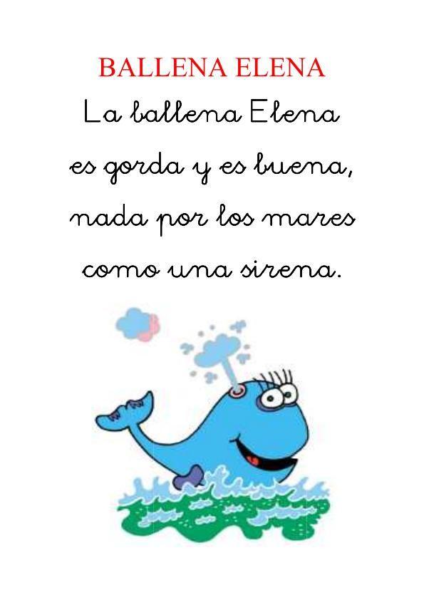 Gramática española con ejercicios y recursos para aprender español. Imágenes de poesias cortas para niños | Imágenes
