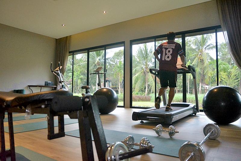 Tusita Wellness Resort Chumphon : Fitness Room