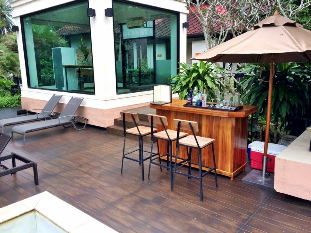 Tusita Wellness Resort Chumphon : Pool Bar