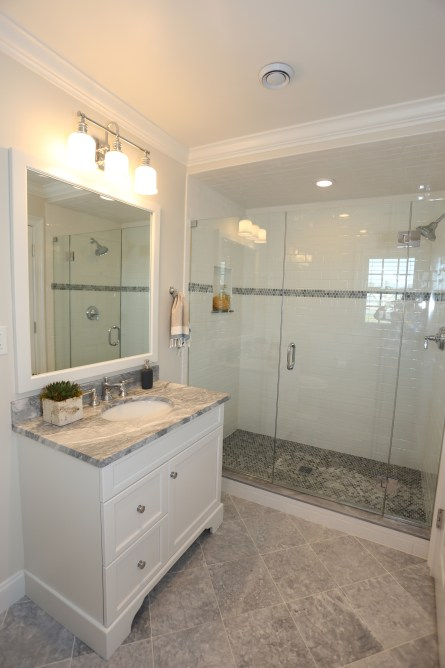 Full Bathroom Home Renovation Project in Fairfield, CT