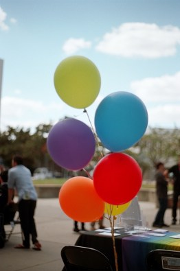 CSUF celebrated National Coming Out Day on October 11, 2018.