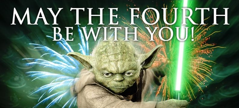 Star Wars discounts - May the fourth - Yoda