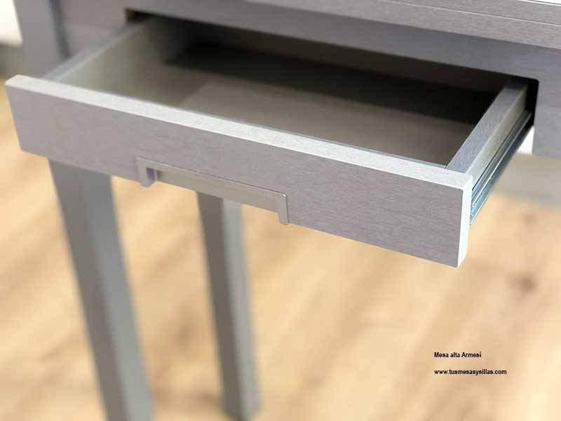 hauteur de table de 90 cm etroite et