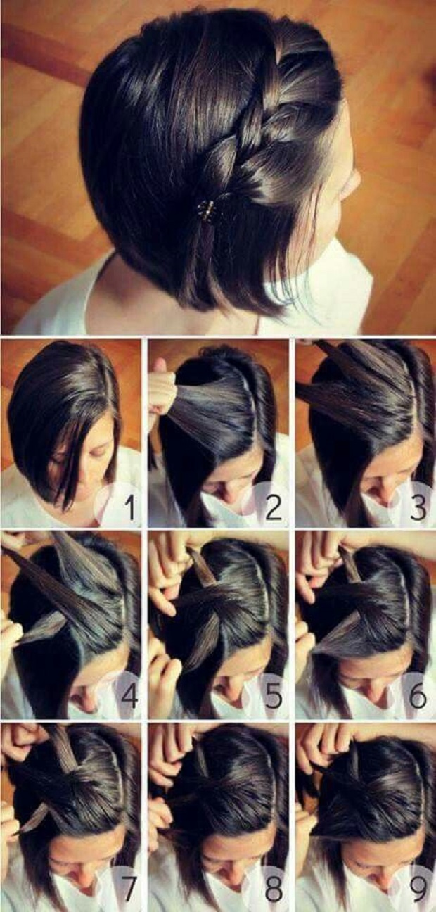 7 Peinados Para Cabello Corto Fáciles De Hacer Que Te Harán Lucir Genial