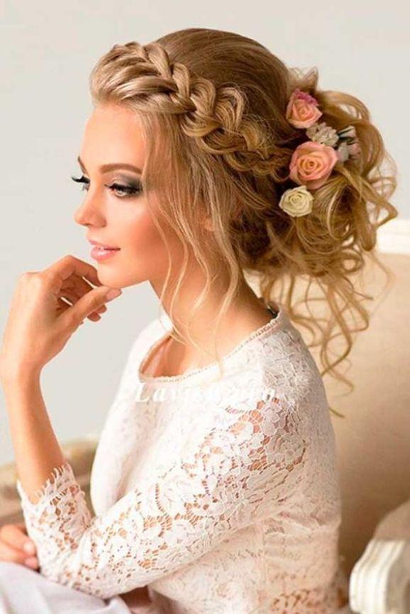 peinados locos para una boda