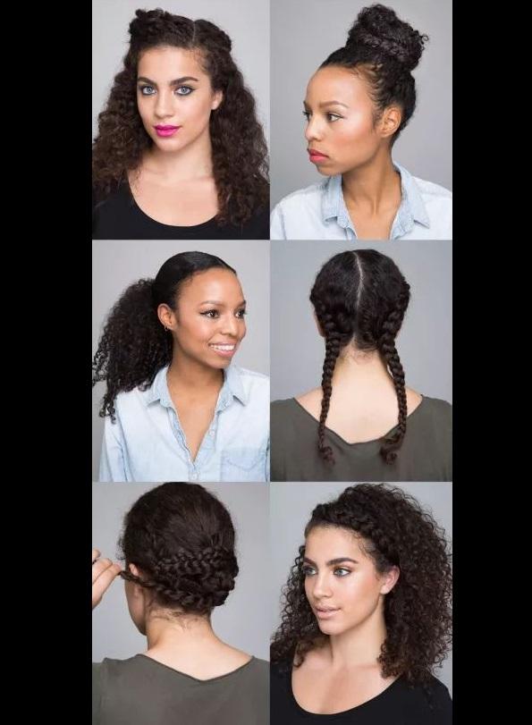 otros peinados para cabello chino