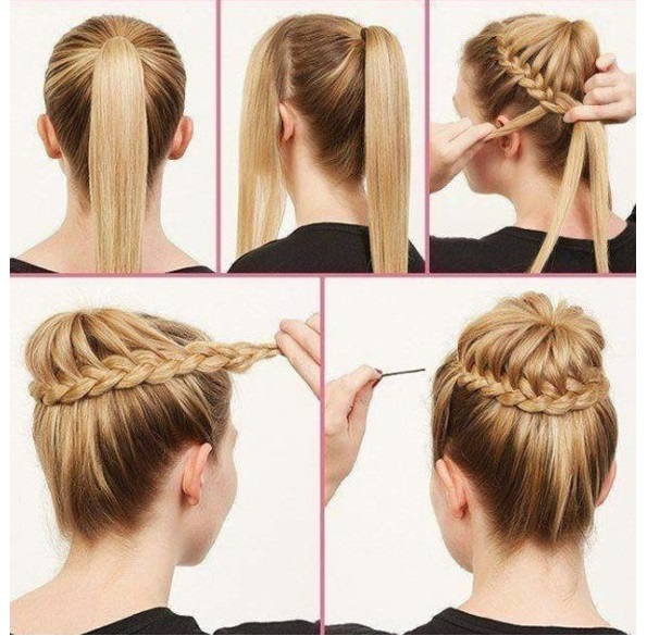 peinado ballerina
