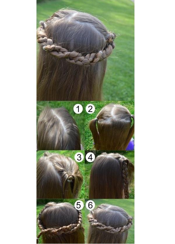 peinados para comunion