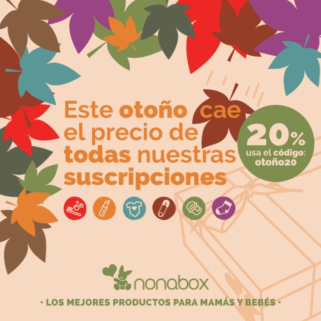 código promocional Nonabox otoño20
