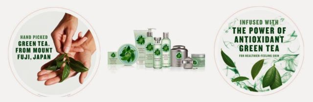 Fuji Green Tea the body shop