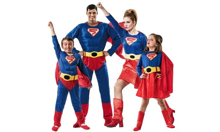 carnaval familia superman