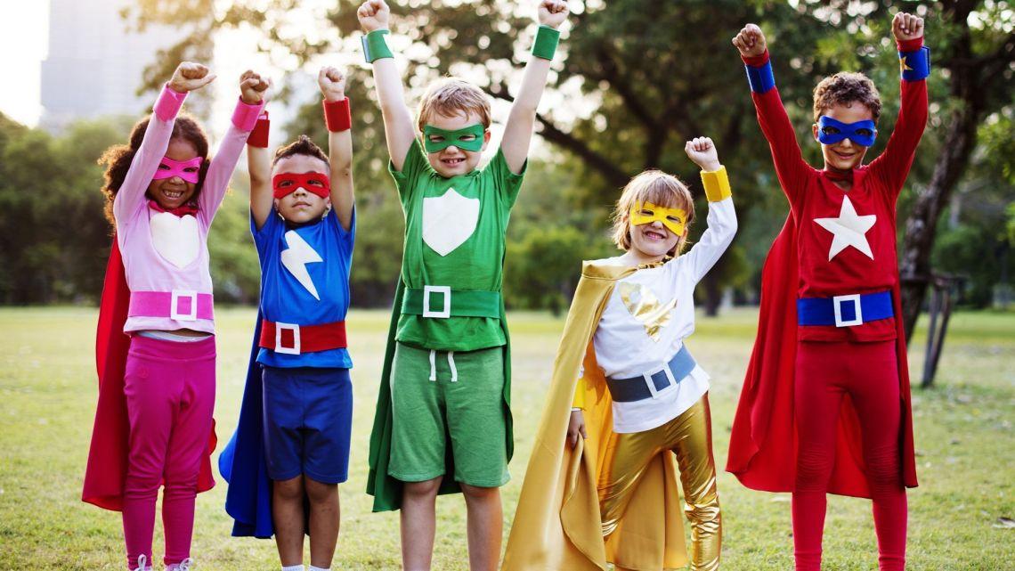 superheroes carnaval