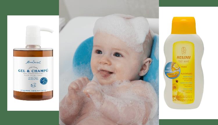 el baño del bebe