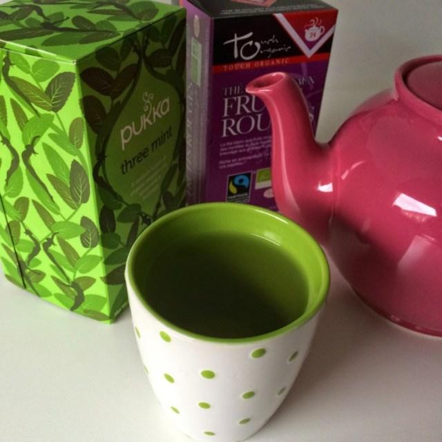 koffie vervangen door thee