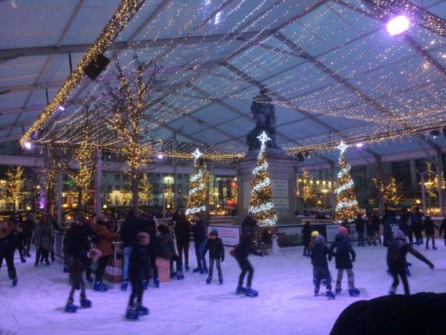kerstmarkt antwerpen winter in antwerpen